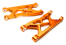 Billet Machined Rear Suspension Arms for Arrma 1/10 Granite 4X4 3S BLX