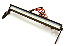 Realistic A-Pillar Mount Roof Top White LED (36) Light Bar Set W=150mm
