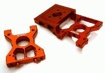 Billet Machined Drive Motor & Center Diff Mount for Losi 1/5 Desert Buggy XL-E