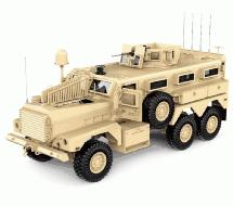 HG-P602 1/12 6X6 RC Military Cougar ARTR w/2.4GHz Remote, Sound & Light Upgrades