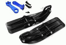 Front Sled Attachment Set for Losi 1/5 Desert Buggy XL-E (for RWD Operation)