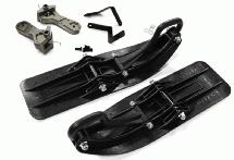 Front Sled Ski Attachment Set for Arrma 1/10 Granite 4X4 3S BLX (RWD Operation)