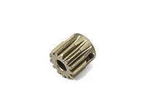 Billet Machined Mod 0.6 Pinion Gear 13T, 3.17mm Bore/Shaft for Brushless R/C