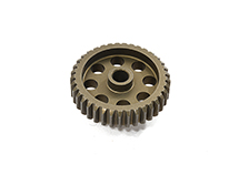 Billet Machined 48 Pitch Pinion Gear 37T, 3.17mm Bore/Shaft for Brushless R/C