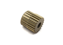Billet Machined 64 Pitch Pinion Gear 21T, 3.17mm Bore/Shaft for Brushless R/C