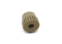 Billet Machined 64 Pitch Pinion Gear 23T, 3.17mm Bore/Shaft for Brushless R/C