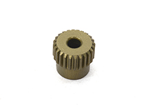 Billet Machined 64 Pitch Pinion Gear 24T, 3.17mm Bore/Shaft for Brushless R/C