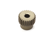 Billet Machined 64 Pitch Pinion Gear 25T, 3.17mm Bore/Shaft for Brushless R/C