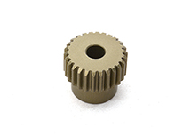 Billet Machined 64 Pitch Pinion Gear 26T, 3.17mm Bore/Shaft for Brushless R/C