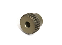 Billet Machined 64 Pitch Pinion Gear 27T, 3.17mm Bore/Shaft for Brushless R/C