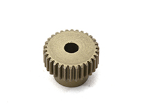 Billet Machined 64 Pitch Pinion Gear 30T, 3.17mm Bore/Shaft for Brushless R/C