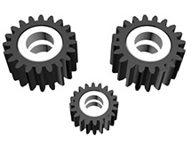 Reduction Planetary Gear JK-25-115 for HG-P801 1/12 8X8 RC Military Truck