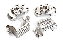 Billet Machined Alloy Axle Mounts for Tamiya CR-01