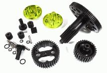 Billet Machined Metal Gear Set for Arrma 1/10 Granite Voltage 2WD Mega Truck