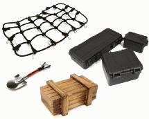 Realistic Model 1/10 Scale Accessories Set for Off-Road Crawler