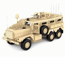HG-P602 1/12 6X6 RC Military Cougar ARTR w/2.4GHz Stick Remote, Sound & Light