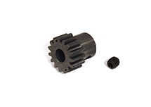 Billet Machined 0.8 Steel 32 Pitch Pinion 15T for BL Applications w/ 5mm Shaft