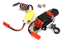 Realistic Winch w/ Receiver 3rd Ch. Controller for 1/10 Scale Trail Crawler