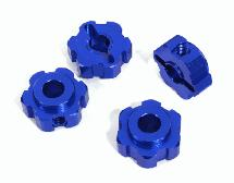 Billet Machined Alloy Wheel Hex (4) for Traxxas 1/10 Maxx Truck 4S