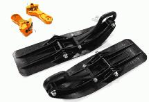 Front Sled Ski Attachment Set for Traxxas 1/10 Maxx Truck 4S (for RWD)