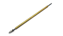 Straight 195mm Long 4mm Stainless Steel Shaft w/ Brass Stuffing Tube for RC Boat