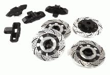 Realistic Scale Alloy Brake Disc Set for Traxxas 1/7 Unlimited Desert Racer