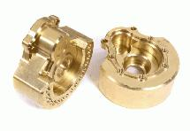 Machined Brass Alloy 93g Each Portal Cover (2) for Traxxas TRX-4 Scale Crawler