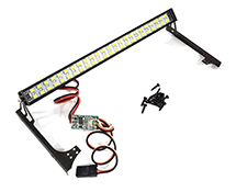 Multi-Color LED Light Bar 148mm On/Off/Flash w/ 3 Modes for Jeep JW10 Body