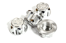 Billet Machined 17mm Hex Wheel Nuts (4) for Traxxas 1/10 & 1/8 Scale