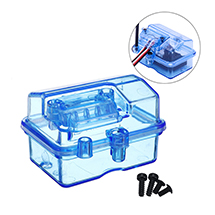 Clear Plastic Waterproof Receiver Box for RC Boat