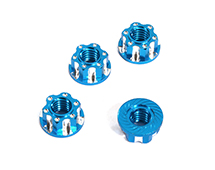 Realistic Billet Machined M4 Size Wheel Nuts for 1/10 Scale RC