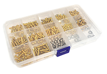 RC Model Gold Color M3 Metric Size Screw & Hardware Maintenance Kit