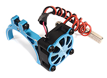 Alloy Motor Mount + Cooling Fan for TRX-4 & SCX10 (Motor: 36mm O.D.)
