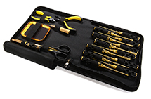 Complete 18pcs Racing Tool Set w/ Pro Carrying Bag