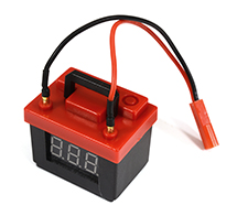 Realistic Battery 2S-3S Voltage Checker & Alarm for 1/10 Scale RC