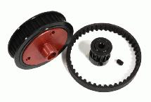 Belt Drive Conversion for Axial 1/10 SCX-10, SCX10 II & SCX10 III
