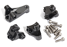 Alloy Suspension Linkage Mounts for Axial 1/10 SCX10 III