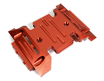 Machined Alloy Center Skid Plate for Axial 1/10 SCX10 III
