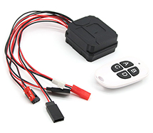 Winch & LED Light/Flash Multi-Function Remote Controller for RC Scale Model