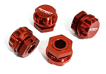 Billet Machined Wheel Adapters for Arrma 1/7 Limitless All-Road Speed Bash