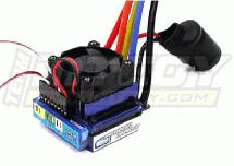 PROSPEED Brushless ESC 60A Sensored for Slash & other 1/10 Off-Road Vehicle