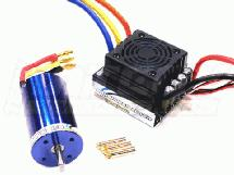 PROSPEED Brushless 120A3060Kv Sensorless System for E-Maxx, E-Revo, 1/8 Off-Road