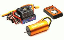 SPECS 3674 Brushless 2370Kv Sensorless 2-4S ESC for E-Maxx E-Revo & 1/8 Off-Road