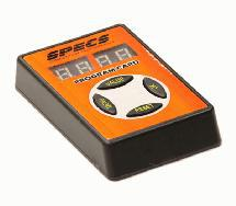 SPECS BL System ESC Program Card for 1/8, 1/10 & 1/16 Scale