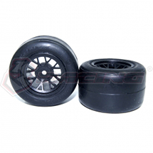 Rear Wheel & RIDE Tyre Set For FGX EVO (2pcs)