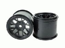 Front Wheel Set For Rubber For 3racing Sakura FGX