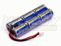 Intellect 1600 7.2V 6 Cell Receiver Pack