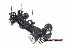 3RACING Sakura D4 1/10 Drift Car(RWD - Sport Black edition)- Pre-assembled