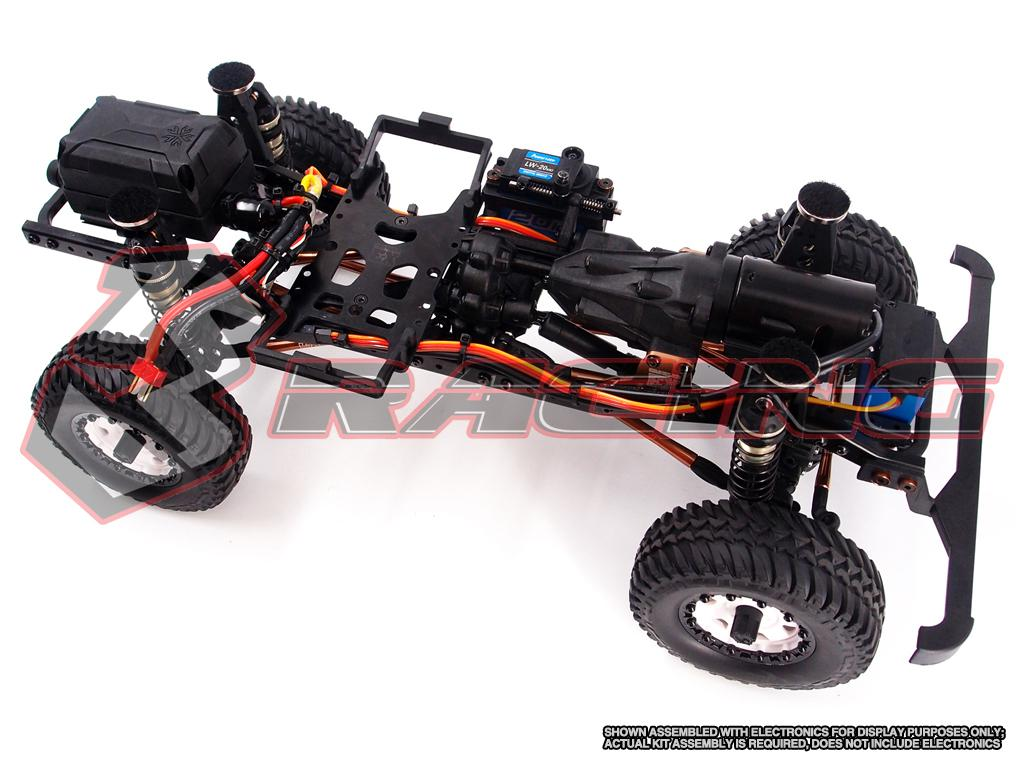3Racing EX REAL 1:10 4WD Off-Road Crawler Kit w/ Motor, 2-Speed & No Electronics