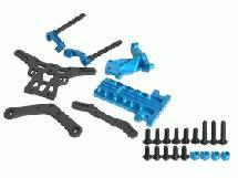 3Racing Extension Wheel Base Kit 257mm For Tamiya M05